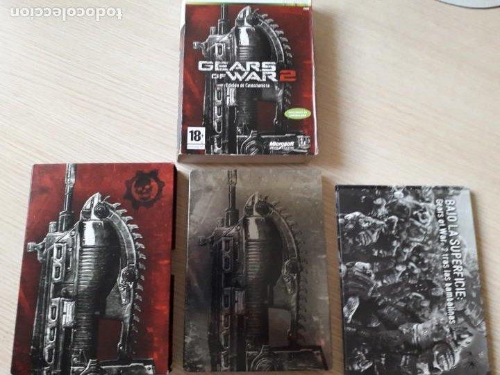 Videojuegos y Consolas: Gears of War 2 Edición Coleccionista XBOX 360 - Foto 4 - 217936832