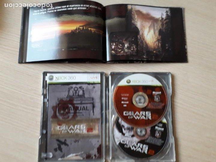 Videojuegos y Consolas: Gears of War 2 Edición Coleccionista XBOX 360 - Foto 5 - 217936832