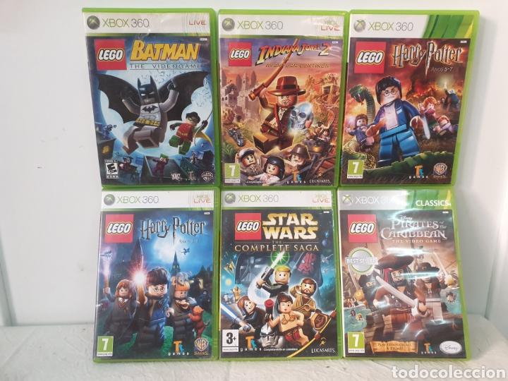 LOTE JUEGOS LEGO XBOX 360 (Juguetes - Videojuegos y Consolas - Microsoft - Xbox 360)