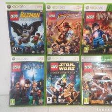 Videojuegos y Consolas: LOTE JUEGOS LEGO XBOX 360. Lote 218660283