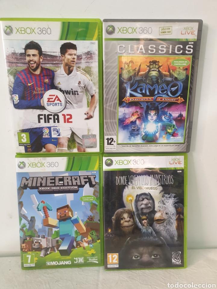 LOTE XBOX 360 (Juguetes - Videojuegos y Consolas - Microsoft - Xbox 360)