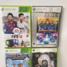 Videojuegos y Consolas: LOTE XBOX 360. Lote 218661901