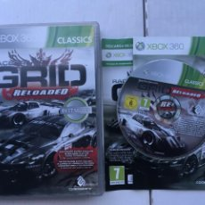 Videojuegos y Consolas: RACEDRIVER GRID RELOADED CLASSICS BEST SELLER RACE DRIVER XBOX X360 X-BOX 360 KREATEN. Lote 218671458
