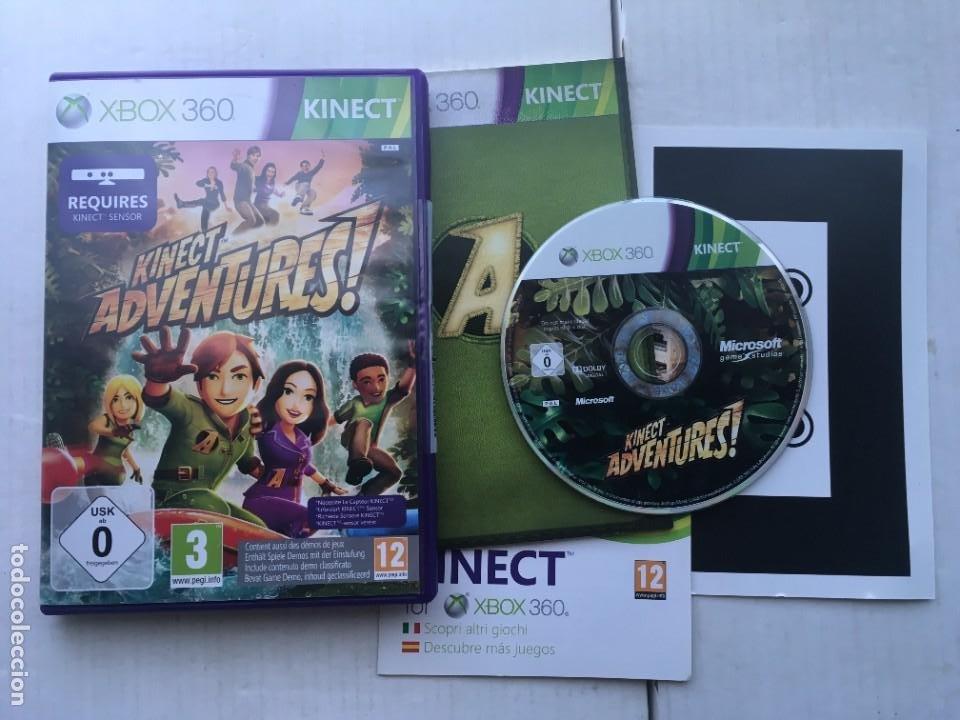 KINECT ADVENTURES XBOX X360 X-BOX 360 KREATEN (Juguetes - Videojuegos y Consolas - Microsoft - Xbox 360)