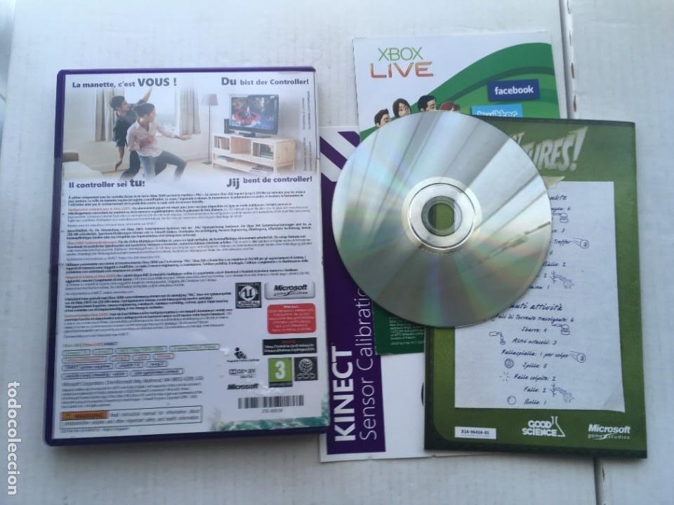 Videojuegos y Consolas: KINECT ADVENTURES XBOX X360 X-BOX 360 KREATEN - Foto 2 - 218735652