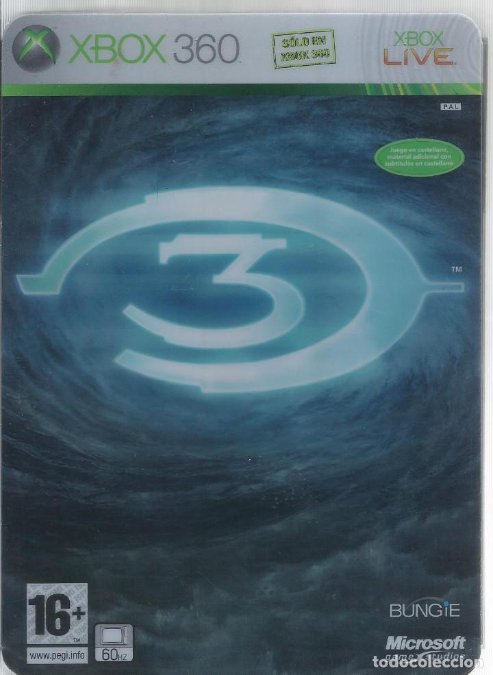 HALO 3 EDICION DE COLECCIONISTA XBOX 360 (INCL. MANUAL,) (Juguetes - Videojuegos y Consolas - Microsoft - Xbox 360)