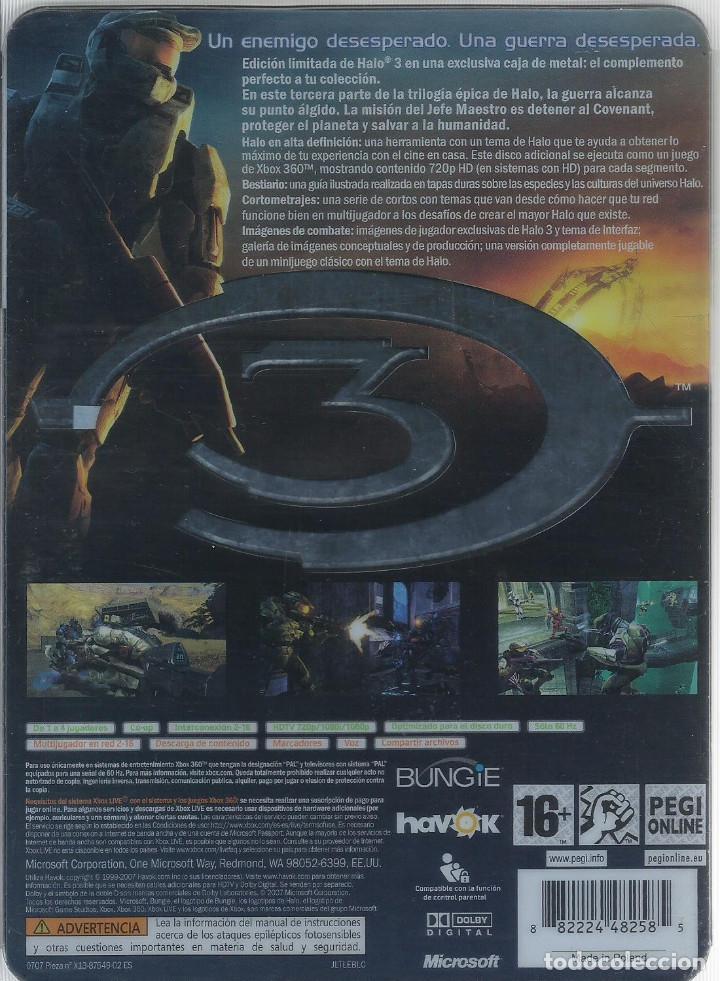 Videojuegos y Consolas: Halo 3 Edicion de Coleccionista XBOX 360 (incl. manual,) - Foto 2 - 220186150