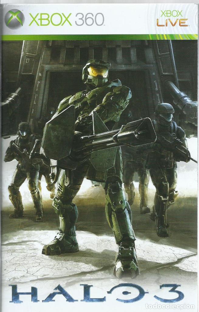 Videojuegos y Consolas: Halo 3 Edicion de Coleccionista XBOX 360 (incl. manual,) - Foto 5 - 220186150