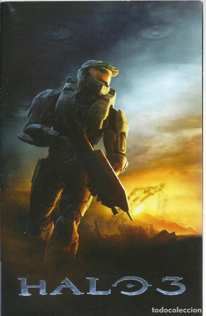Videojuegos y Consolas: Halo 3 Edicion de Coleccionista XBOX 360 (incl. manual,) - Foto 6 - 220186150