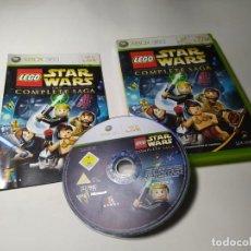 Jeux Vidéo et Consoles: LEGO STAR WARS - THE COMPLETE SAGA ( XBOX 360 - PAL - ESP). Lote 220981670