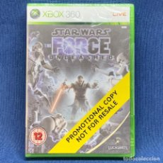 Videojuegos y Consolas: VIDEOJUEGO XBOX 360 - STAR WARS THE FORCE UNLEASHED - PAL - PROMOTIONAL COPY. Lote 221567271