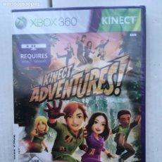 Videojuegos y Consolas: KINECT ADVENTURES XBOX X360 X-BOX 360 KREATEN NUEVO PRECINTADO CAJA LILA. Lote 221718185