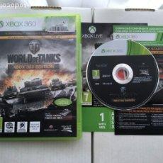 Videojuegos y Consolas: WORLD OF TANKS WORLDS TANK STARTER PACK XBOX X360 X-BOX 360 KREATEN. Lote 221719038