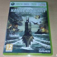 Videojuegos y Consolas: NAVAL ASSAULT *MUERTE EN EL MAR* XBOX 360 COMPLETO PAL ESP. Lote 221751998