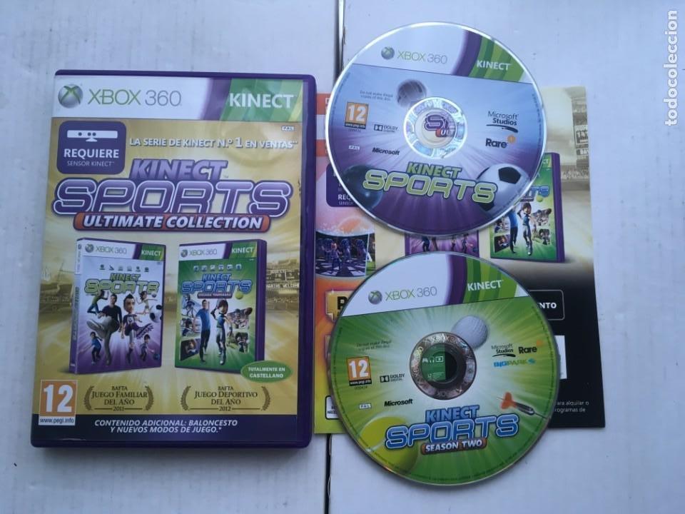 KINECT SPORTS 1 Y 2 ULTIMATE COLLECTION MICROSOFT XBOX 360 X360 X-360 KREATEN (Juguetes - Videojuegos y Consolas - Microsoft - Xbox 360)