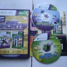 Videojogos e Consolas: KINECT SPORTS 1 Y 2 ULTIMATE COLLECTION MICROSOFT XBOX 360 X360 X-360 KREATEN. Lote 221928731