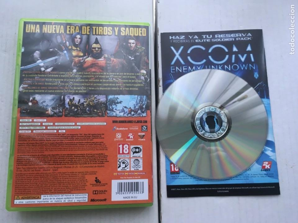 Videojuegos y Consolas: BORDERLANDS 2 XBOX 360 X360 X-360 X-BOX KREATEN - Foto 2 - 221955986