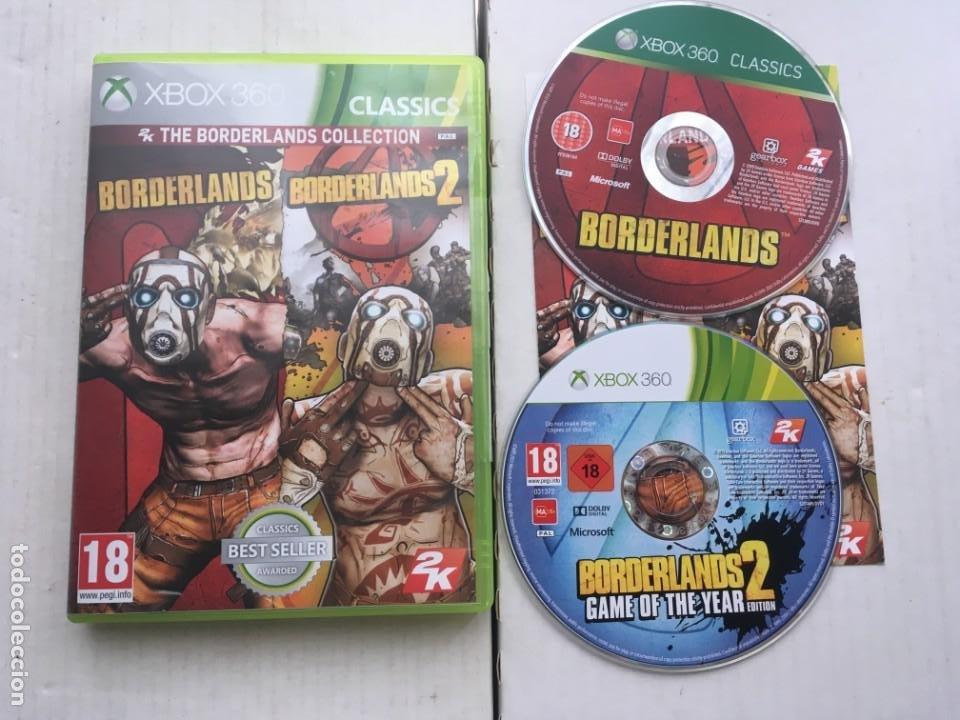 BORDERLANDS COLLECTION 1 Y 2 GOTY XBOX 360 X360 X-360 X-BOX KREATEN (Juguetes - Videojuegos y Consolas - Microsoft - Xbox 360)