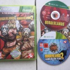 Videojuegos y Consolas: BORDERLANDS COLLECTION 1 Y 2 GOTY XBOX 360 X360 X-360 X-BOX KREATEN. Lote 221956347