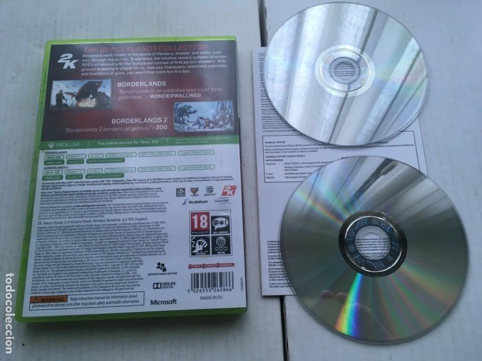 Videojuegos y Consolas: BORDERLANDS COLLECTION 1 Y 2 GOTY XBOX 360 X360 X-360 X-BOX KREATEN - Foto 2 - 221956347