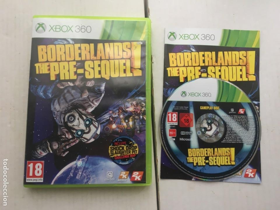 BORDERLANDS THE PRE-SEQUEL XBOX 360 X360 X-360 X-BOX KREATEN (Juguetes - Videojuegos y Consolas - Microsoft - Xbox 360)