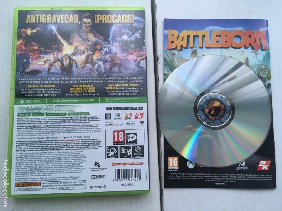 Videojuegos y Consolas: BORDERLANDS THE PRE-SEQUEL XBOX 360 X360 X-360 X-BOX KREATEN - Foto 2 - 221956642