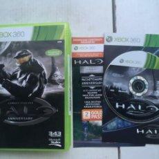 Videojuegos y Consolas: HALO COMBAT EVOLVED ANNIVERSARY XBOX 360 X360 X-360 X-BOX KREATEN. Lote 221956897
