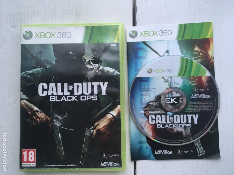 CALL OF DUTY BLACK OPS 1 XBOX 360 X360 X-360 X-BOX KREATEN (Juguetes - Videojuegos y Consolas - Microsoft - Xbox 360)