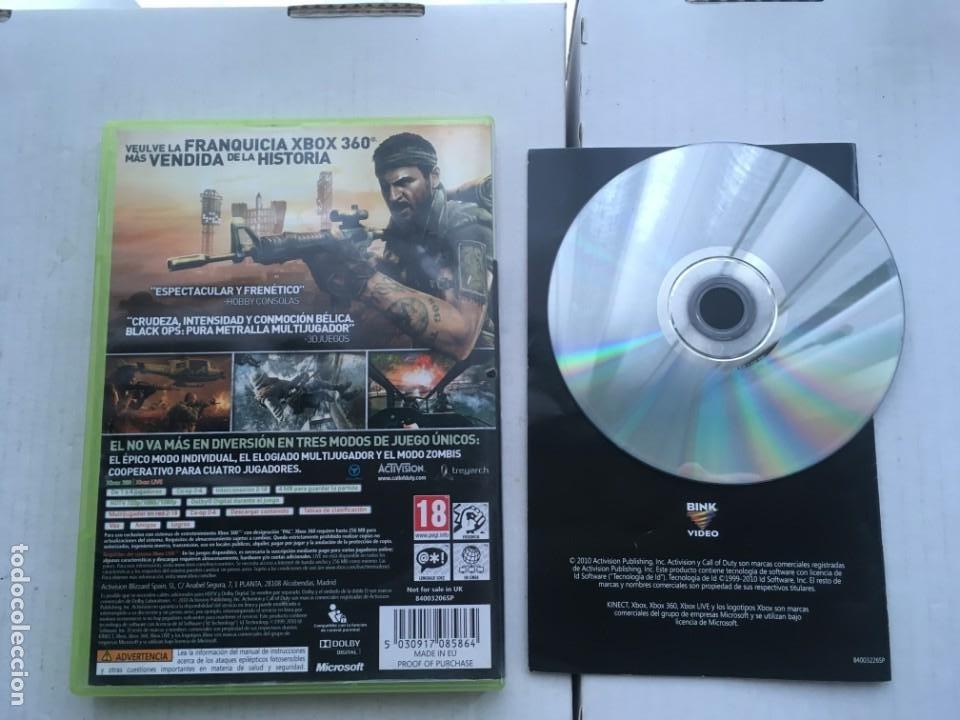 Videojuegos y Consolas: CALL OF DUTY BLACK OPS 1 XBOX 360 X360 X-360 X-BOX KREATEN - Foto 2 - 221962050