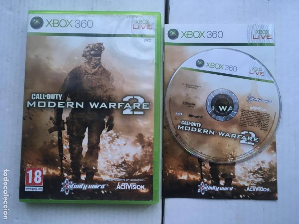 CALL OF DUTY MODERN WARFARE 2 XBOX 360 X360 X-360 X-BOX KREATEN (Juguetes - Videojuegos y Consolas - Microsoft - Xbox 360)