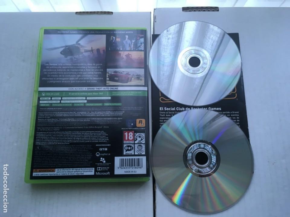Videojuegos y Consolas: GRAND THEFT AUTO V FIVE 5 GTA XBOX 360 X360 X-360 X-BOX KREATEN - Foto 2 - 221963227