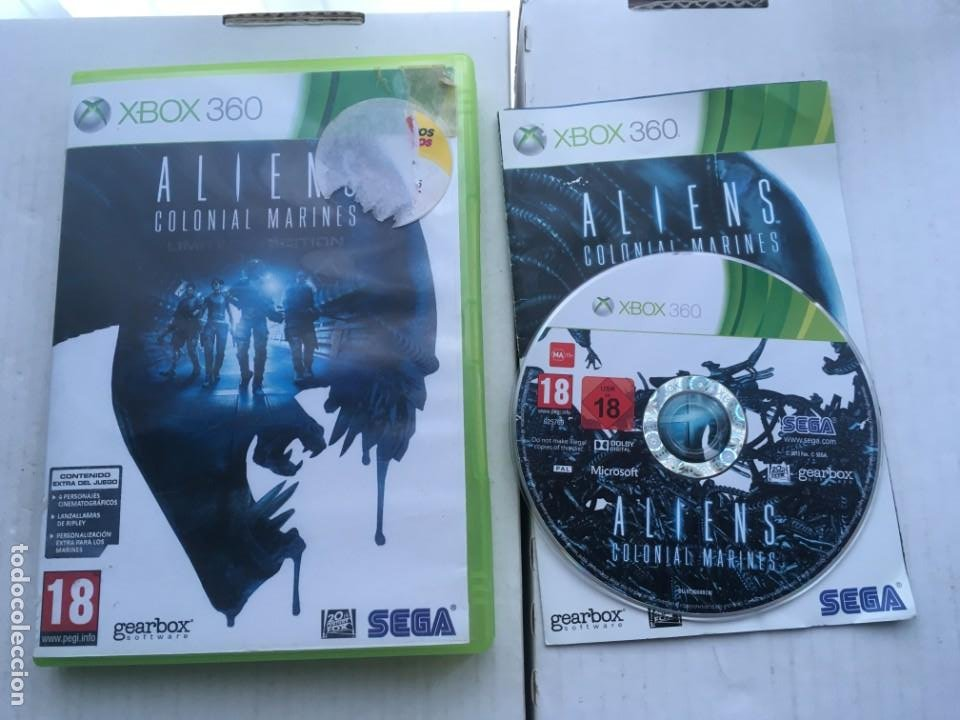 ALIENS COLONIAL MARINES LIMITED EDITION SEGA XBOX 360 X360 X-360 X-BOX KREATEN (Juguetes - Videojuegos y Consolas - Microsoft - Xbox 360)