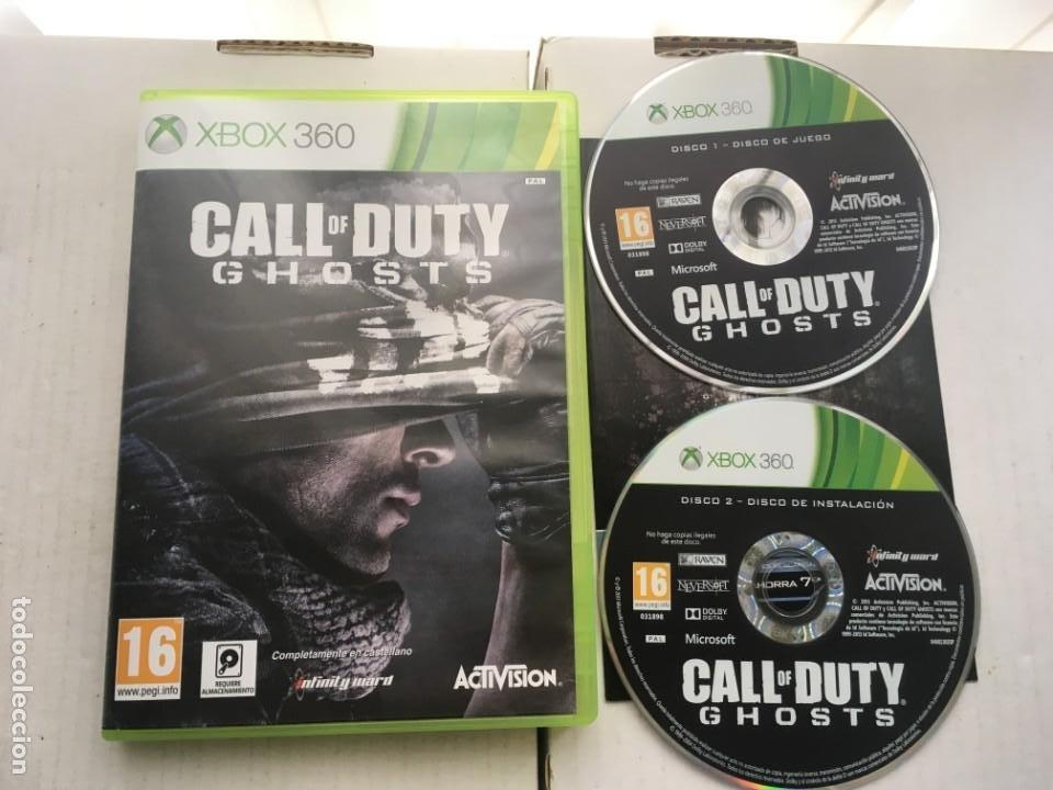 CALL OF DUTY GHOST GHOST COD XBOX 360 X360 X-360 X-BOX KREATEN (Juguetes - Videojuegos y Consolas - Microsoft - Xbox 360)