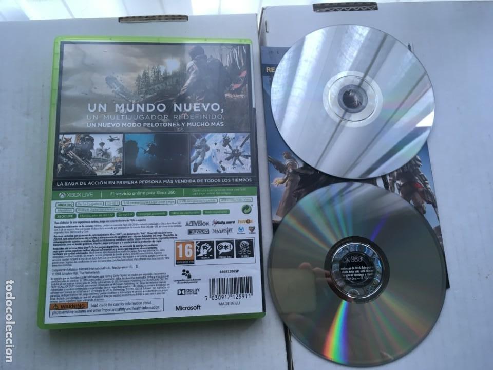 Videojuegos y Consolas: CALL OF DUTY GHOST GHOST COD XBOX 360 X360 X-360 X-BOX KREATEN - Foto 2 - 221963695