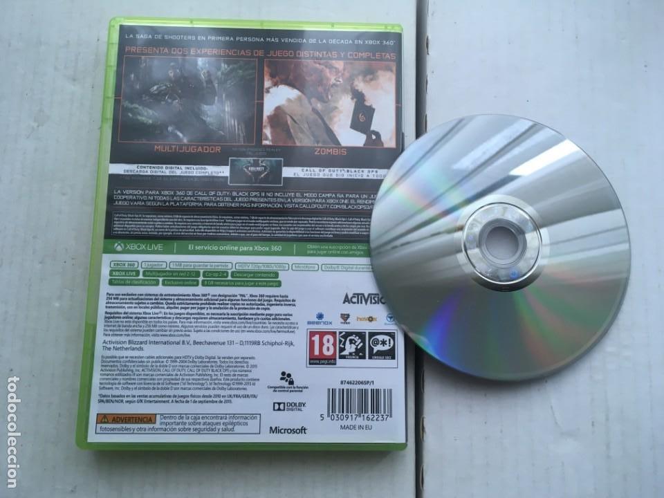 Videojuegos y Consolas: CALL OF DUTY BLACK OPS III 3 COD XBOX 360 X360 X-360 X-BOX KREATEN - Foto 2 - 221963918