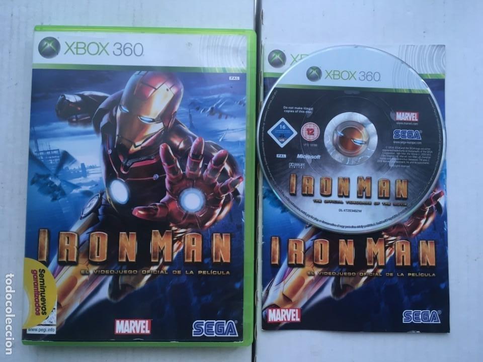 IRONMAN SEGA IRON MAN MARVEL XBOX 360 X360 X-360 X-BOX KREATEN (Juguetes - Videojuegos y Consolas - Microsoft - Xbox 360)