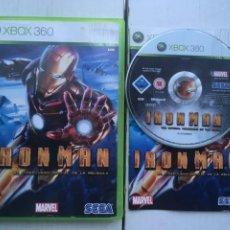 Videojuegos y Consolas: IRONMAN SEGA IRON MAN MARVEL XBOX 360 X360 X-360 X-BOX KREATEN. Lote 221965332