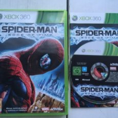 Videojuegos y Consolas: SPIDER-MAN EDGE OF TIME SPIDERMAN MARVEL SPIDER MAN XBOX 360 X360 X-360 X-BOX KREATEN. Lote 221965573