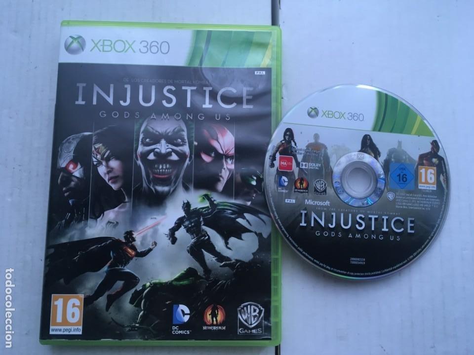 INJUSTICE GODS AMONG US DC COMICS XBOX 360 X360 X-360 X-BOX KREATEN (Juguetes - Videojuegos y Consolas - Microsoft - Xbox 360)