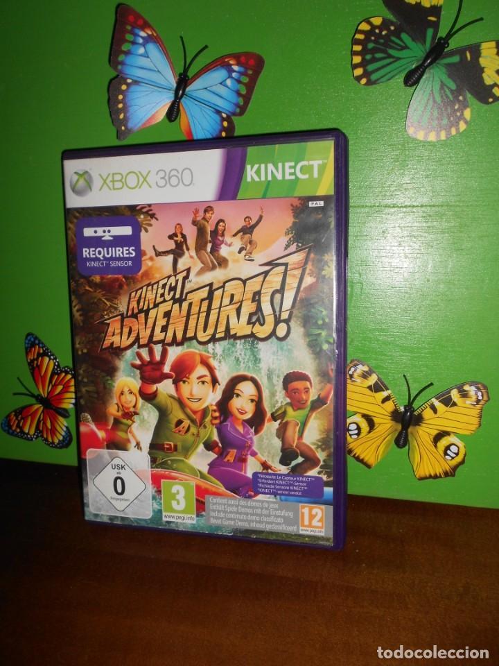 KINECT ADVENTURES - XBOX 360 (Juguetes - Videojuegos y Consolas - Microsoft - Xbox 360)