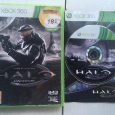 Videojuegos y Consolas: HALO COMBAT EVOLVED ANNIVERSARY XBOX 360 X360 X-360 X-BOX KREATEN. Lote 222097822