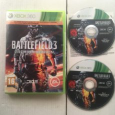 Videojuegos y Consolas: BATTLEFIELD 3 PREMIUM EDITION XBOX 360 X360 X-360 X-BOX KREATEN. Lote 222098231