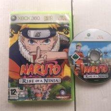 Videojuegos y Consolas: NARUTO RISE OF A NINJA XBOX 360 X360 X-360 X-BOX KREATEN. Lote 222098286