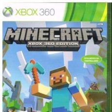 Videojuegos y Consolas: MINECRAFT XBOX 360 EDITION. Lote 222216961