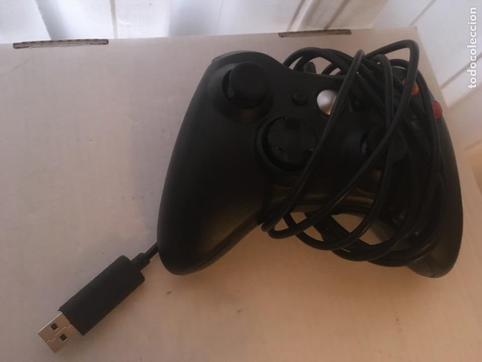 Videojuegos y Consolas: MANDO CON CABLE USB XBOX 360 X360 BLANCO Y NEGRO KREATEN - Foto 3 - 222477977