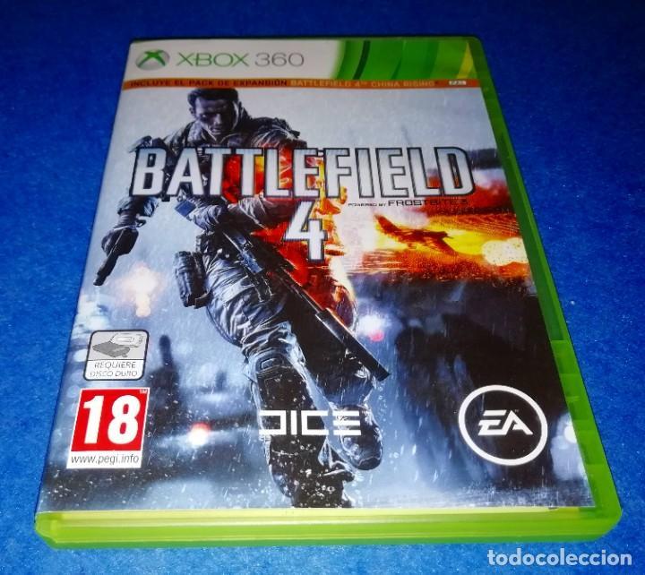 JUEGO PARA CONSOLA XBOX 360 --- BATTLEFIELD 4 --- PEDIDO MINIMO 5€ --- BOX11 (Juguetes - Videojuegos y Consolas - Microsoft - Xbox 360)
