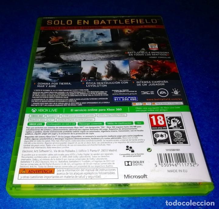 Videojuegos y Consolas: JUEGO PARA CONSOLA XBOX 360 --- BATTLEFIELD 4 --- PEDIDO MINIMO 5€ --- BOX11 - Foto 3 - 222478492
