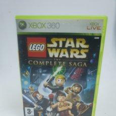 Videojuegos y Consolas: XBOX, LEGO STAR WARS, LA SAGA COMPLETA. Lote 222740800