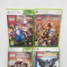 Videojuegos y Consolas: JUEGOS LEGO XBOX 360. Lote 222742481