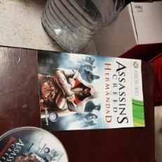 Videojuegos y Consolas: JUEGO XBOX 360 ASSASSIN S CREED LA HERMANDAD. Lote 222974420